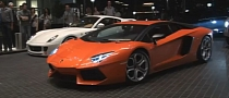 Lamborghini Aventador Ready for Valet Parking in Dubai [Video]