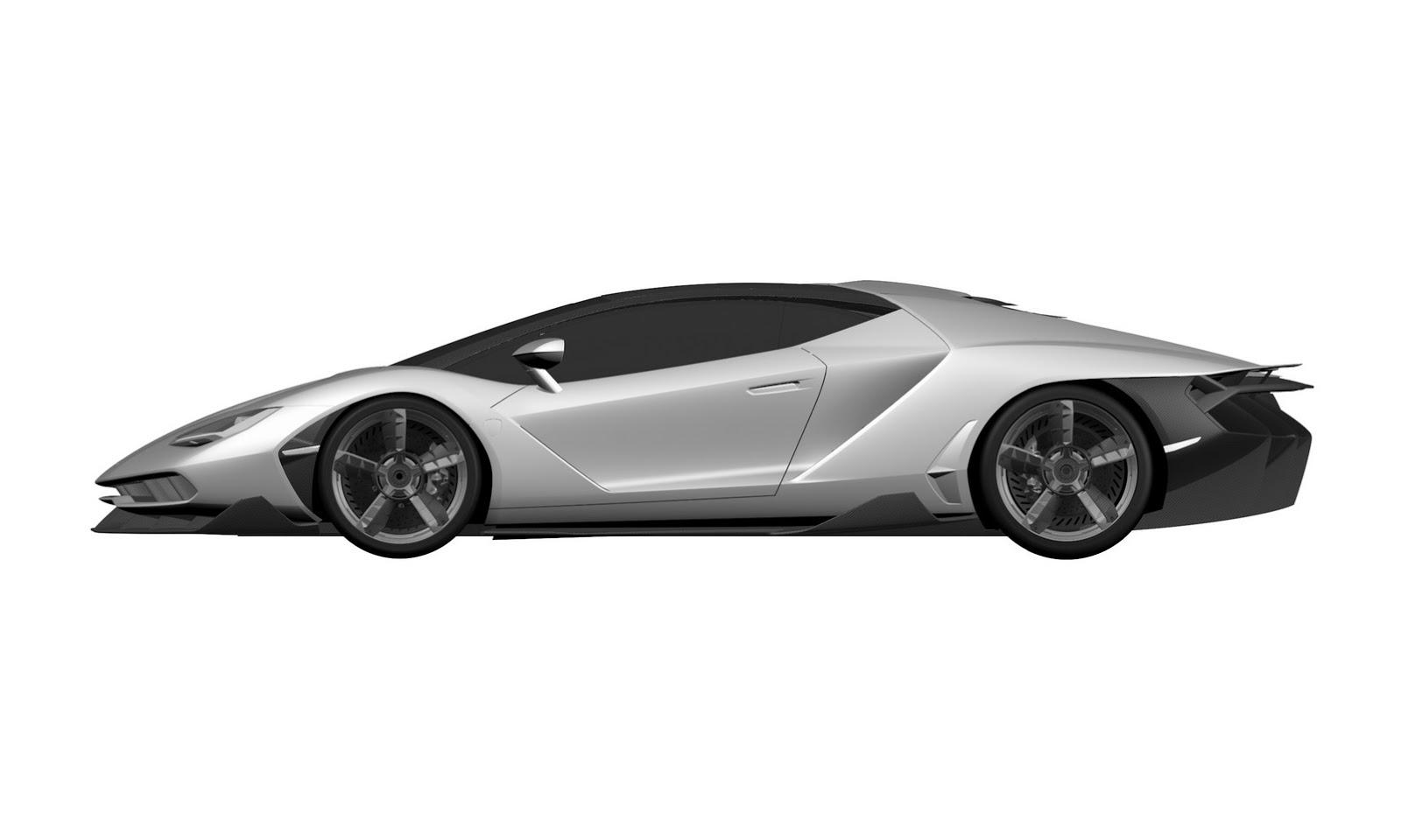 Lamborghini Centenario Lp 770 4 Leaked Looks Like A Futuristic