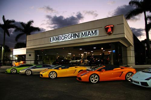 Luxury Car Dealer Miami