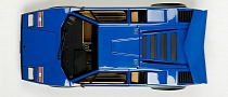 Lamborghini Countach Walter Wolf Edition Scale Model Is Precious [Photo Gallery]