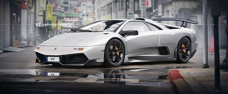 Lamborghini Diablo Gets Modernized With Murcielago Sv