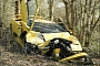 Lamborghini Diablo Destroyed in Luxembourg