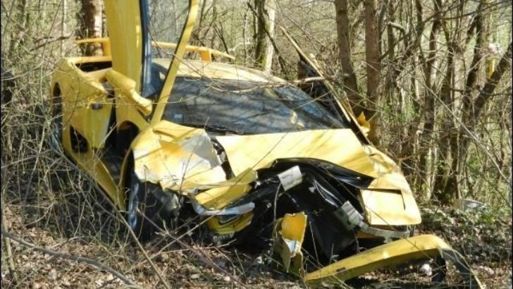 Lamborghini Diablo Destroyed In Luxembourg Autoevolution