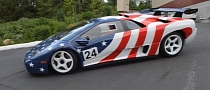 Lamborghini Diablo Wrapped in American Flag Is Extreme [Video]