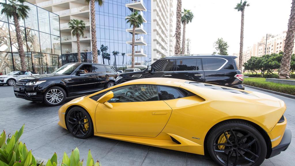 Lamborghini Driver Speeding In Dubai Has Vauxhall Corsa Mobility Car