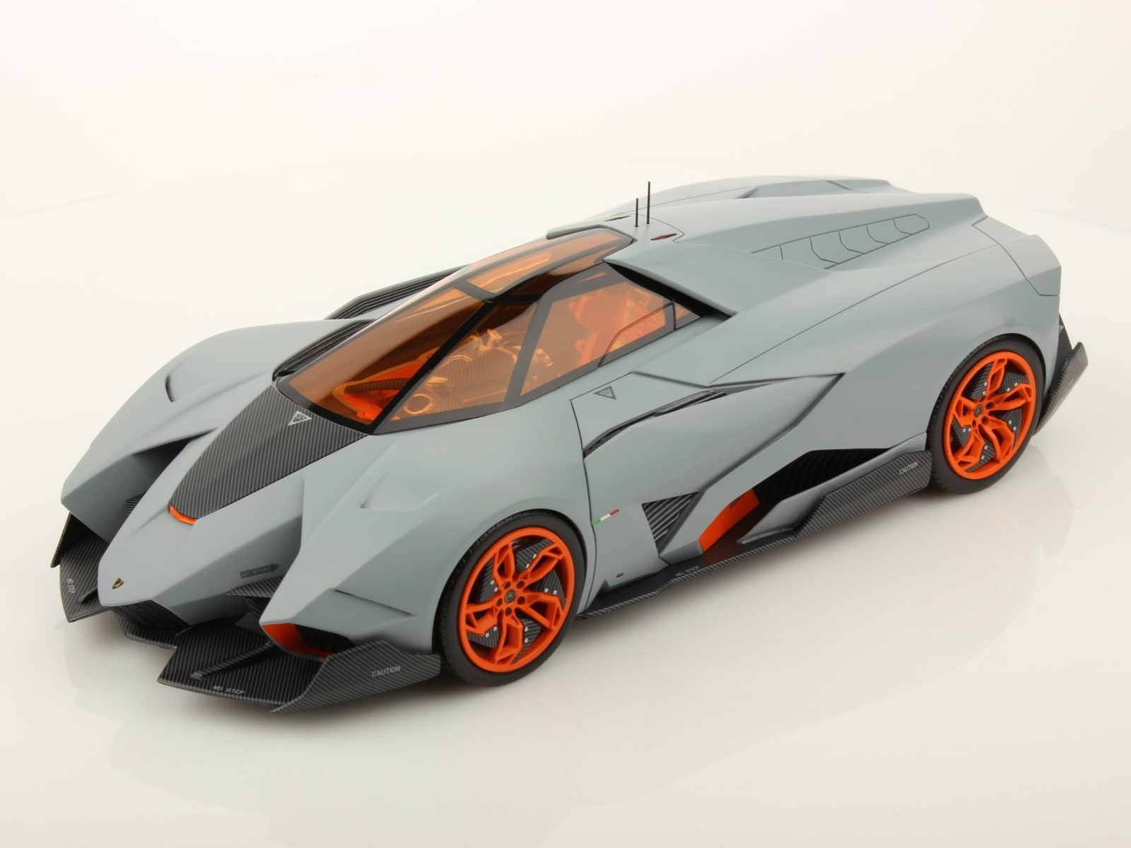 Lamborghini Egoista 1 18 Scale Model Is More Awesome Than The Real Thing Autoevolution