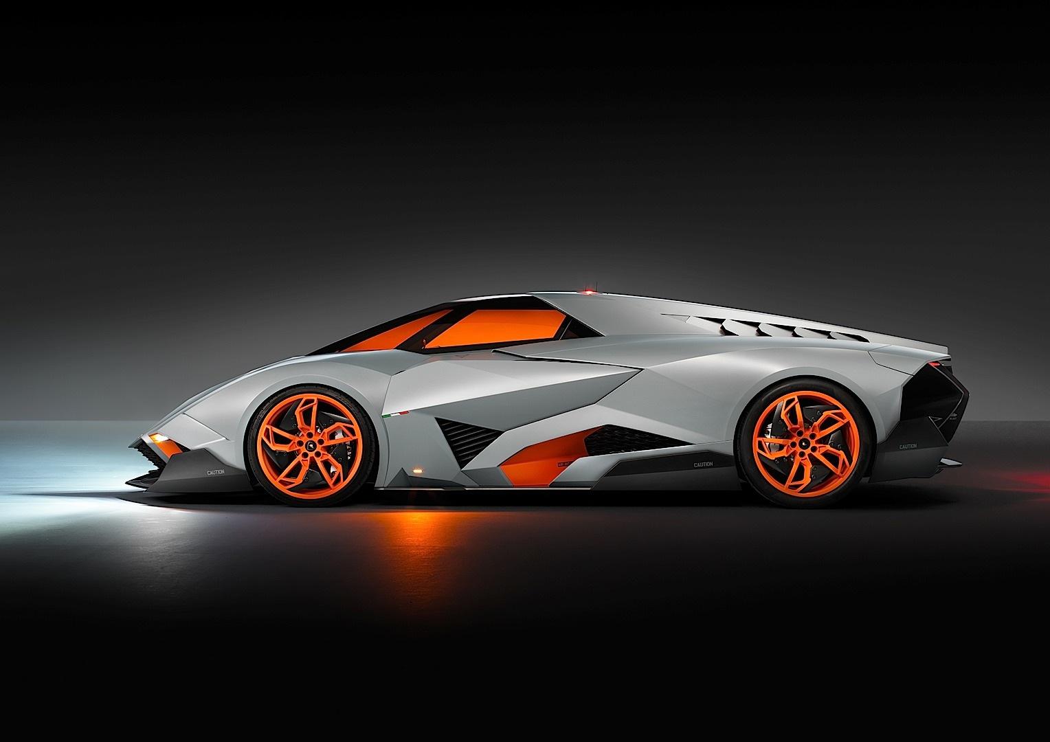 Lamborghini Egoista Concept Is The Car Of The Half Century