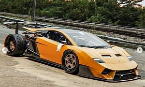 Lamborghini Gallardo V12 Engine Swap Has Exposed Engine