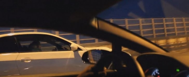 Lamborghini Gallardo Drag Races Supercharged BMW M3 Sleeper, Gets Trampled
