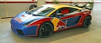 Lamborghini Gallardo Gets Red Bull Wrap [Photo Gallery]