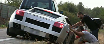 Lamborghini Gallardo Goes Off-Roading [Video]