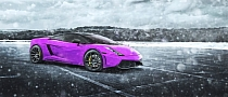 Lamborghini Gallardo in the Blizzard, 2013 Winter Reminder