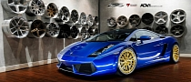 Lamborghini Gallardo on ADV.1 Wheels: Crazy Colors [Photo Gallery]
