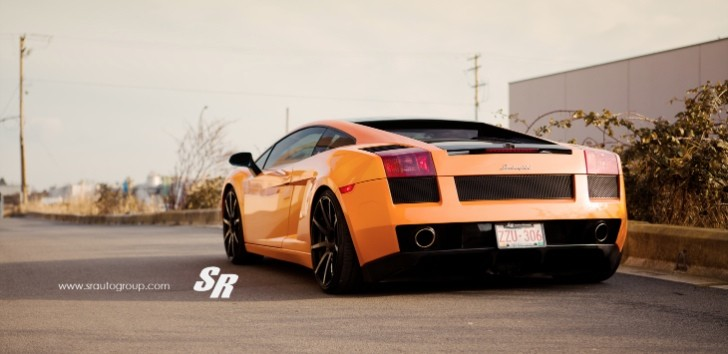 Lamborghini Gallardo on PUR Wheels [Photo Gallery]