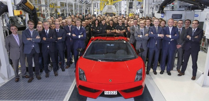 Lamborghini Gallardo Production Ends with LP 570-4 Spyder Performante
