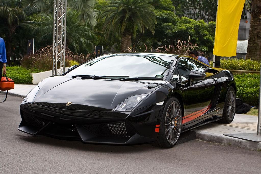 Singapore Limited Edition Lamborghini In Black