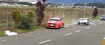 Lamborghini Gallardo Smashes into Shelby GT500 at Racing Event [Video]