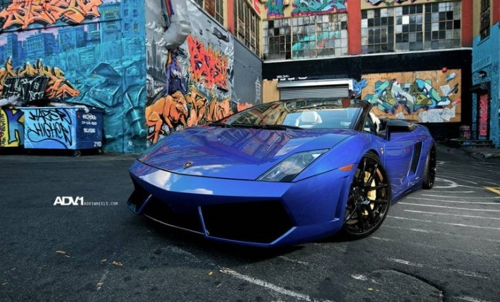 Lamborghini Gallardo Spyder With ADV1 Wheels [Photo Gallery]