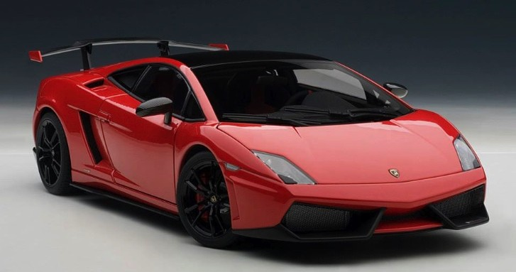 Lamborghini Gallardo Super Trofeo Stradale Scale Model: Must Have [Photo Gallery]