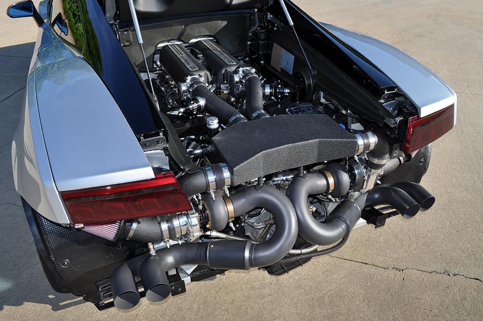 Lamborghini Gallardo Twin Turbo By Underground Racing Goes To Puerto
