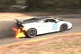 Lamborghini Gallardo Wins Race on Fire [Video]