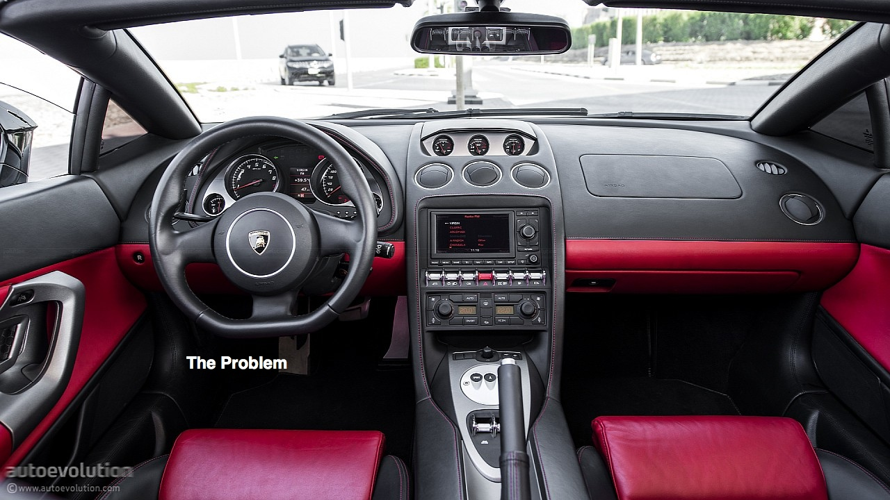 Lamborghini Gallardo\'s Painful Interior Space: Test Drive Rants ...