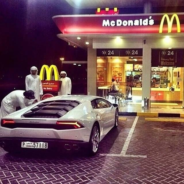 Lamborghini Huracan Can T Find Mcdonald S Drive Through In