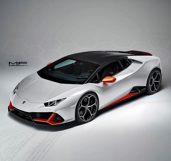 Lamborghini Huracan Evo Looks Wild in This Three,Color Spec