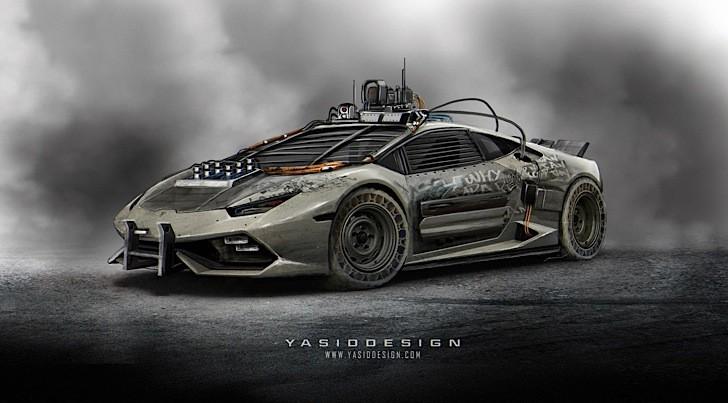 Lamborghini Huracan Gets The Elysium Rendered Makeover