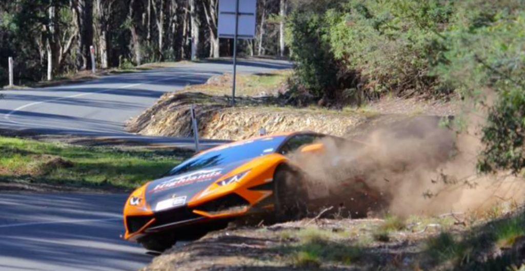 Update Lamborghini Huracan Has Offroad Quot Crash Quot In Targa