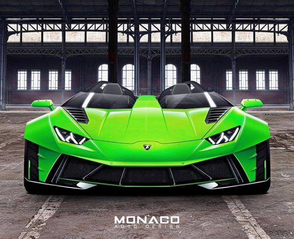 Lamborghini Huracan J Rendered As The One Off That Needs To Be Built