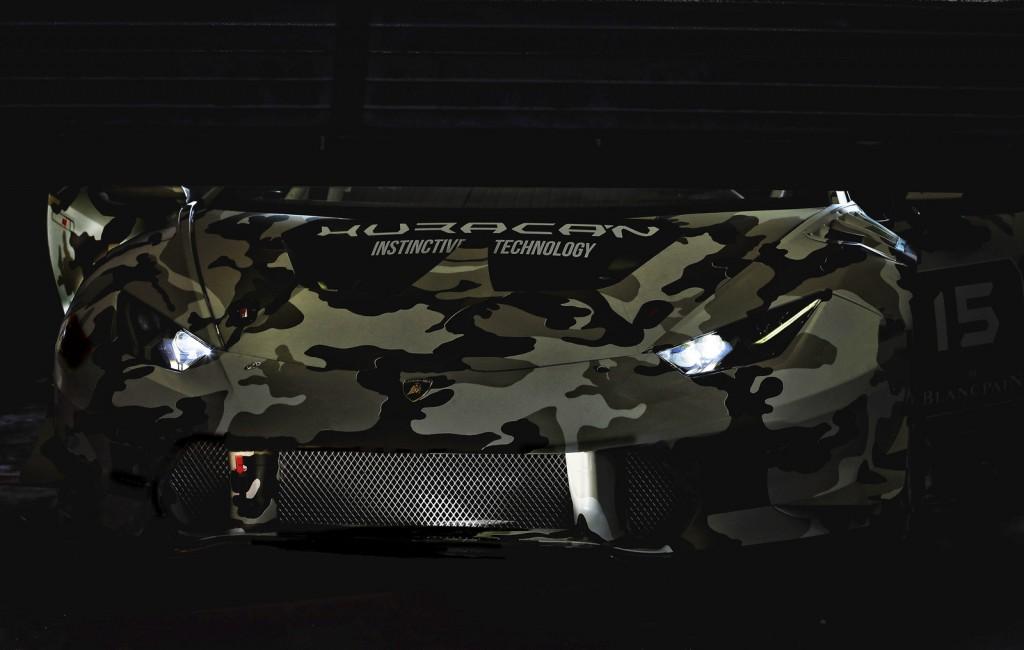 Скетч Lamborghini Huracan Super Trofeo