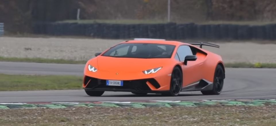 5 Photos. Lamborghini Huracan Performante In Sport Auto Best Handling Car  ...
