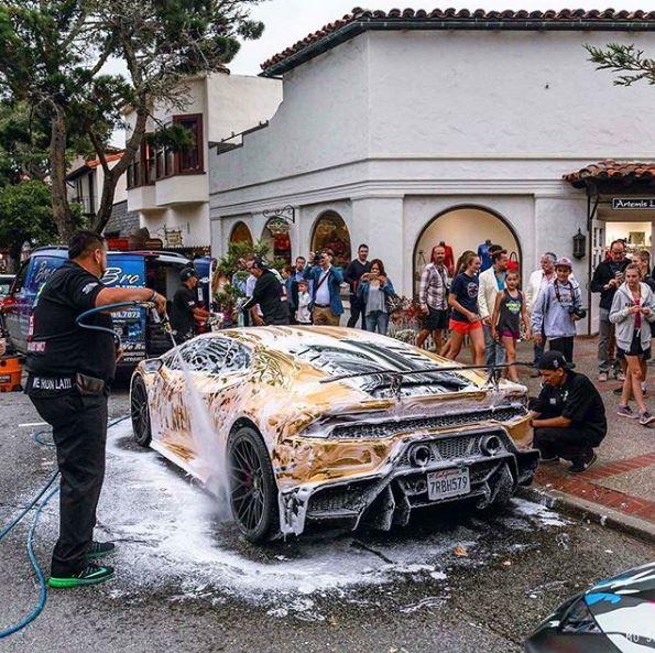 15 Photos. Lamborghini Huracan Performante Live At ...
