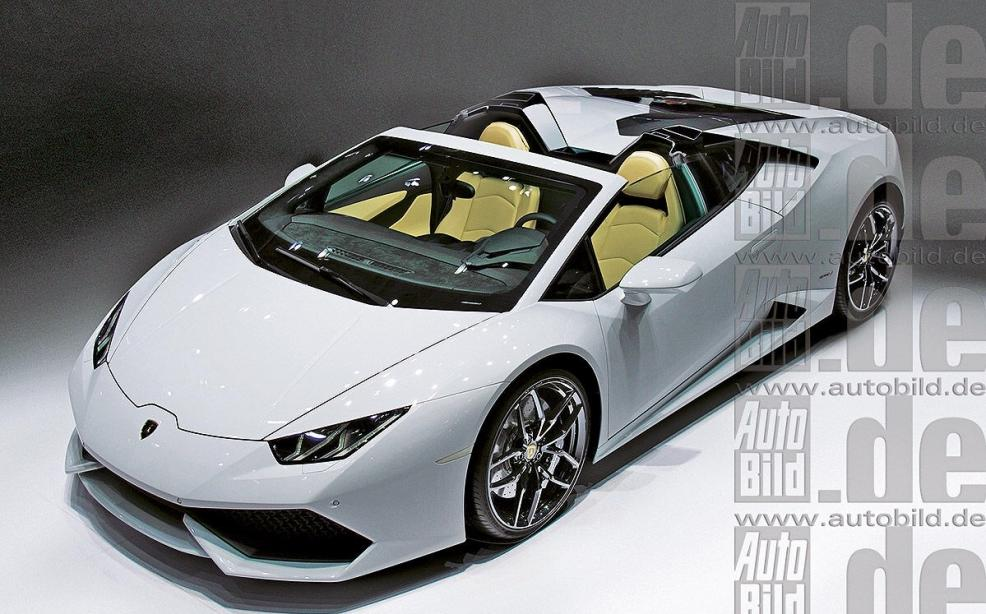 Lamborghini Huracan Spyder Leaked Photo Might Not Be Legit