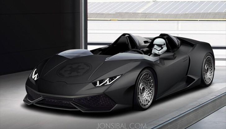Lamborghini Huracan Stormtrooper Edition Awakens The Force