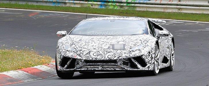 Lamborghini Huracan Superleggera Storms Ring Aventador Sv Like 7m Lap Possible Autoevolution