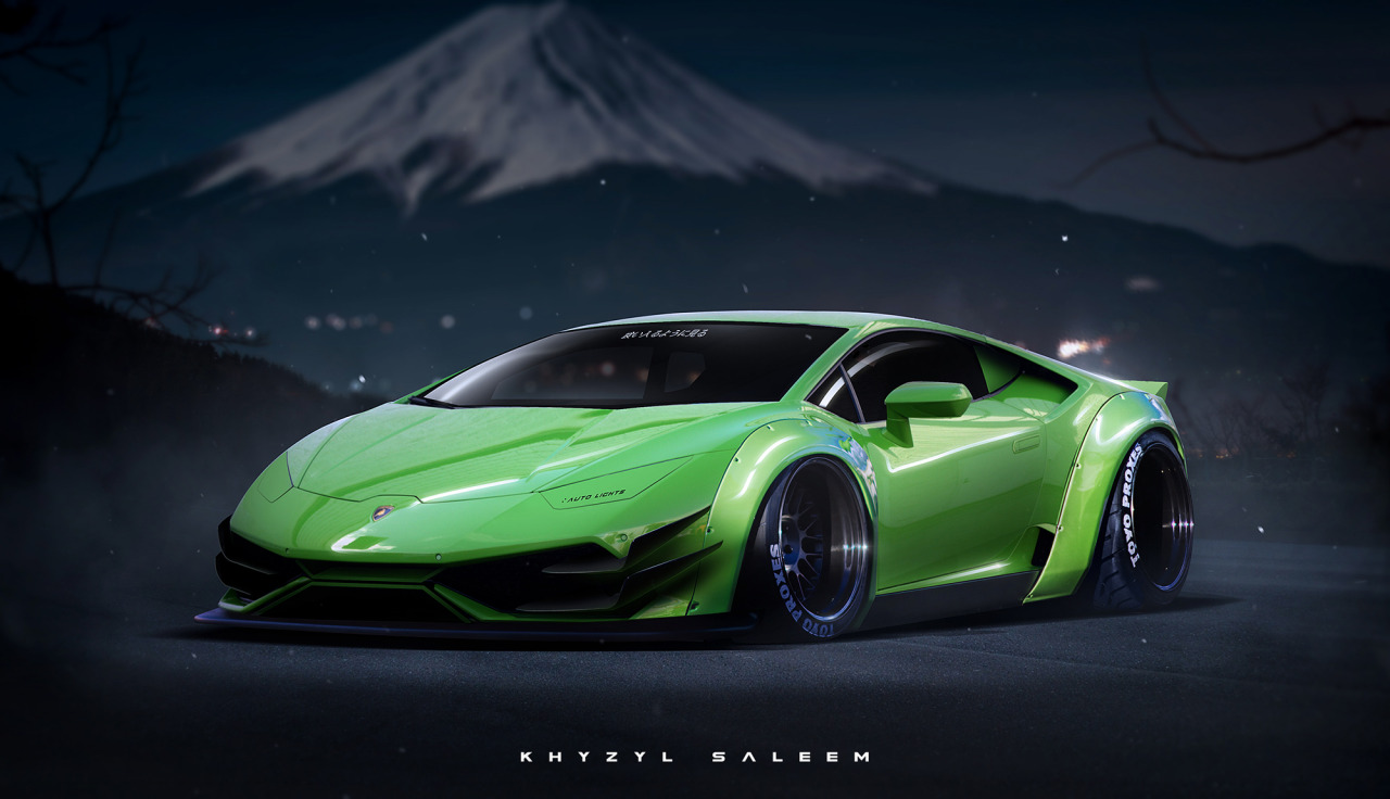 Lamborghini Huracan Touched By Extreme Japanese Tuning In Liberty