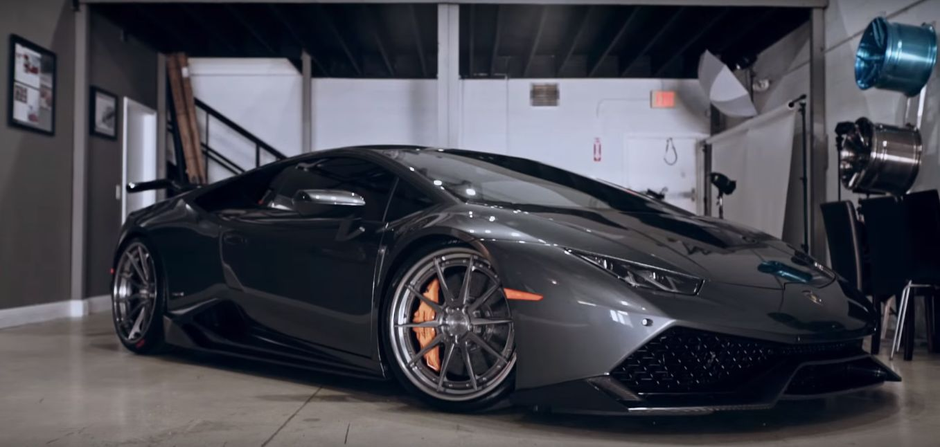 Lamborghini Huracan With Aero Kit And Adv 1 Wheels Becomes