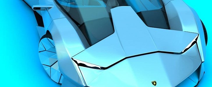 """Lamborghini """"Hyper Hydrogen"""" Looks Like the Mother of Fuel Cell Vehicles"""