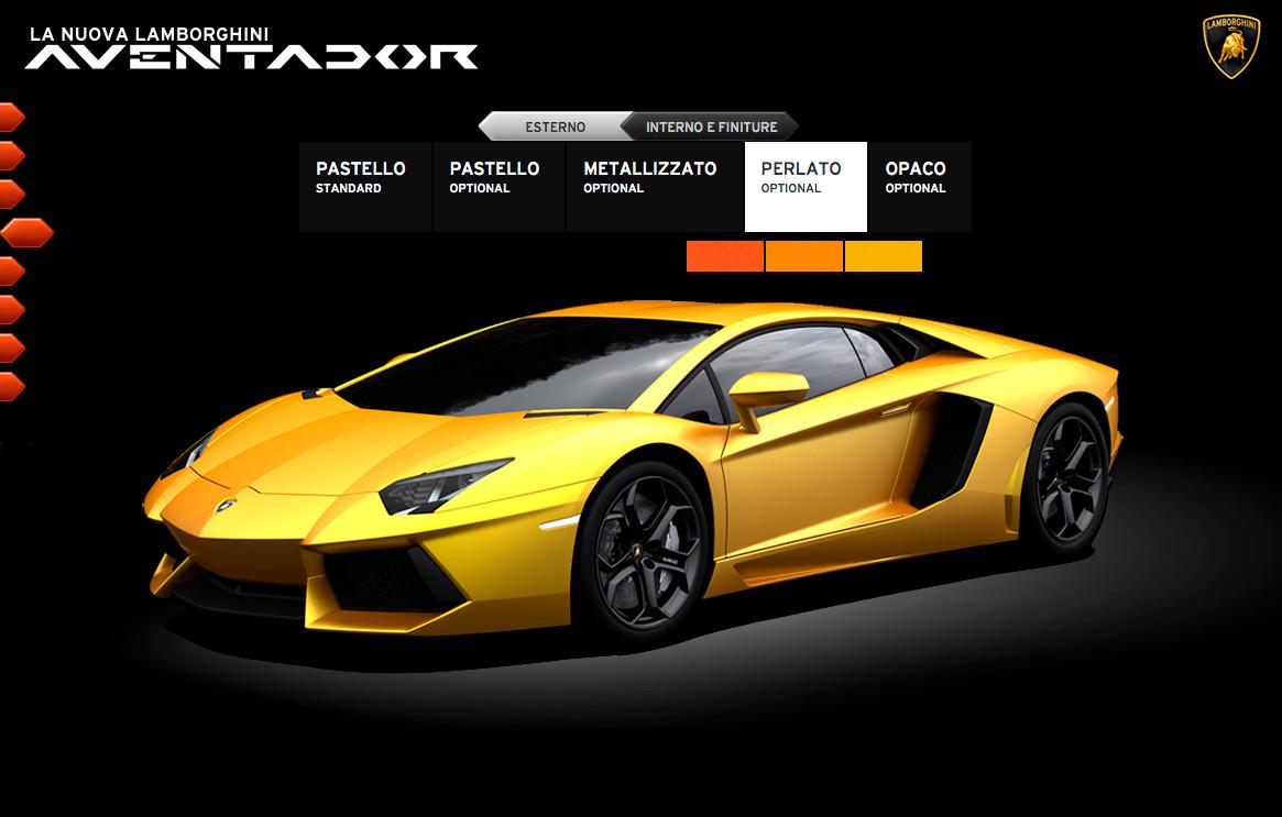 Lamborghini Launches Dedicated Aventador Website ...