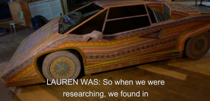 Lamborghini Made from Lottery Tickets [Video]