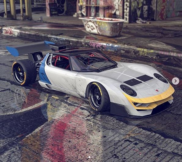 Lamborghini Miura Gets The Rat Rod Treatment Autoevolution