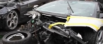 Lamborghini Murcielago 150 MPH Crash Aftermath [Video]