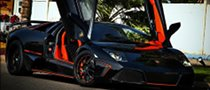 Lamborghini Murcielago Gets Bold Custom Treatment