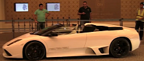 Lamborghini Murcielago LP640 Versace Roadster Spotted in Dubai [Video]