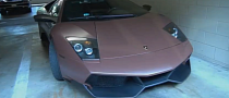Lamborghini Murcielago LP670-4 SV Wrapped Matte Brown [Video]