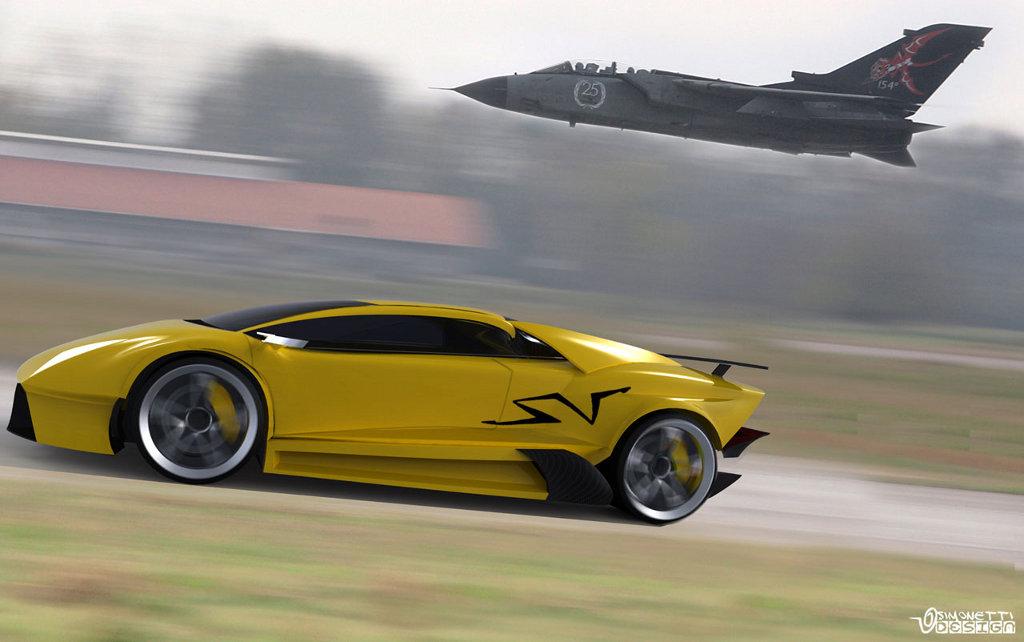 Lamborghini Murcielago Next Generation Concept Study Autoevolution