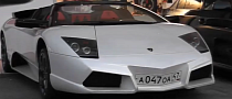 Lamborghini Murcielago Roadster With Reventon Nose in Monaco [Video]
