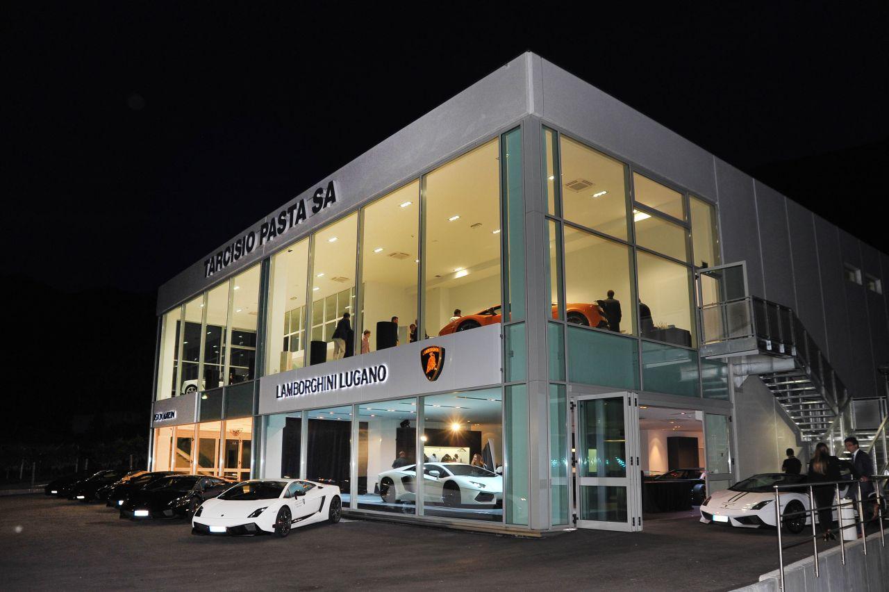 Lamborghini Opens New Dealership In Switzerland